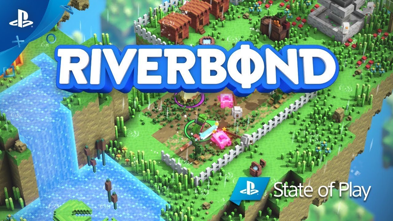 Riverbond - Gameplay and Crossover Skins Trailer | PS4